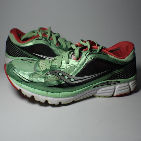 Saucony Kinvara 5 Mint Cherry Running Shoes